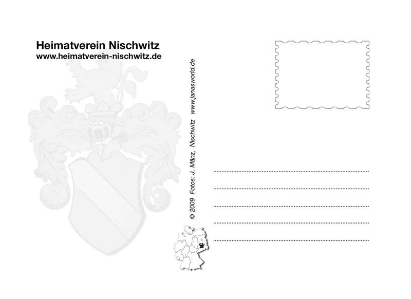 Rückseite (Heimatverein Nischwitz © 2009 J. Mänz)