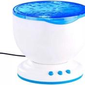 Lunartec Wasserprojektor mit eingebautem Lautsprecher