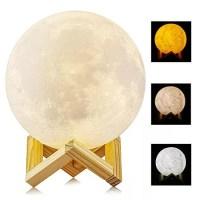 3D Mond Lampe für romantisches Mondlicht