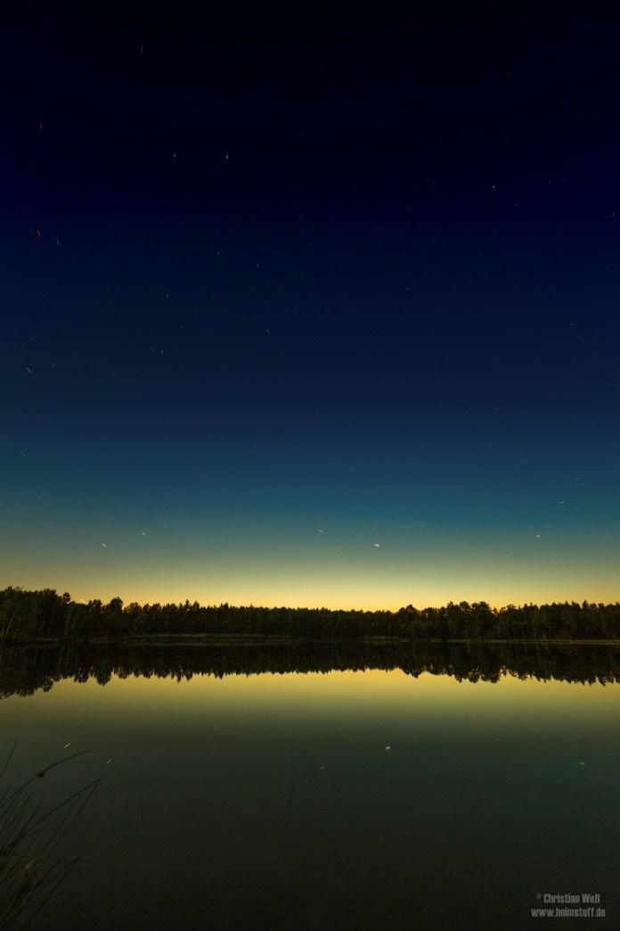 Sterne überm Inselsee