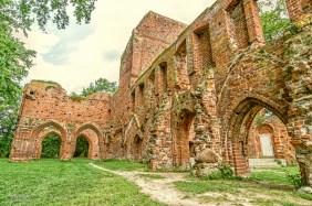 Klosterruine Eldena.