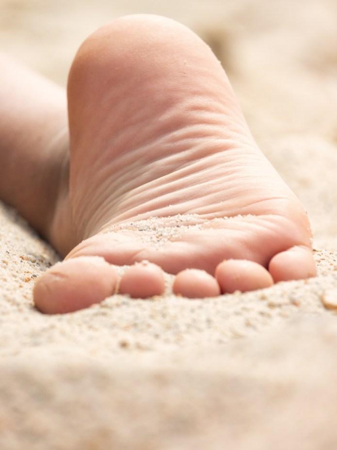 Sommer, Sonne Sand & Zehen.