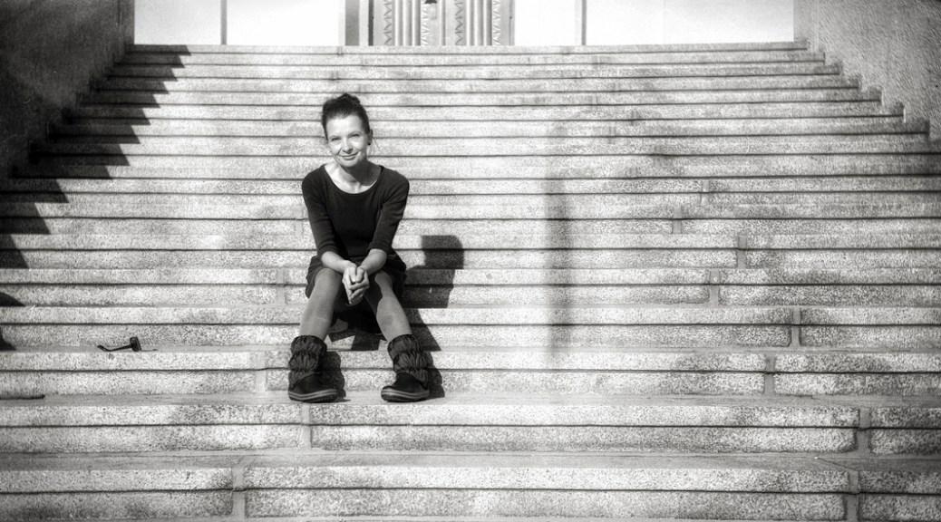 Stufen. Sonne. Schatten.