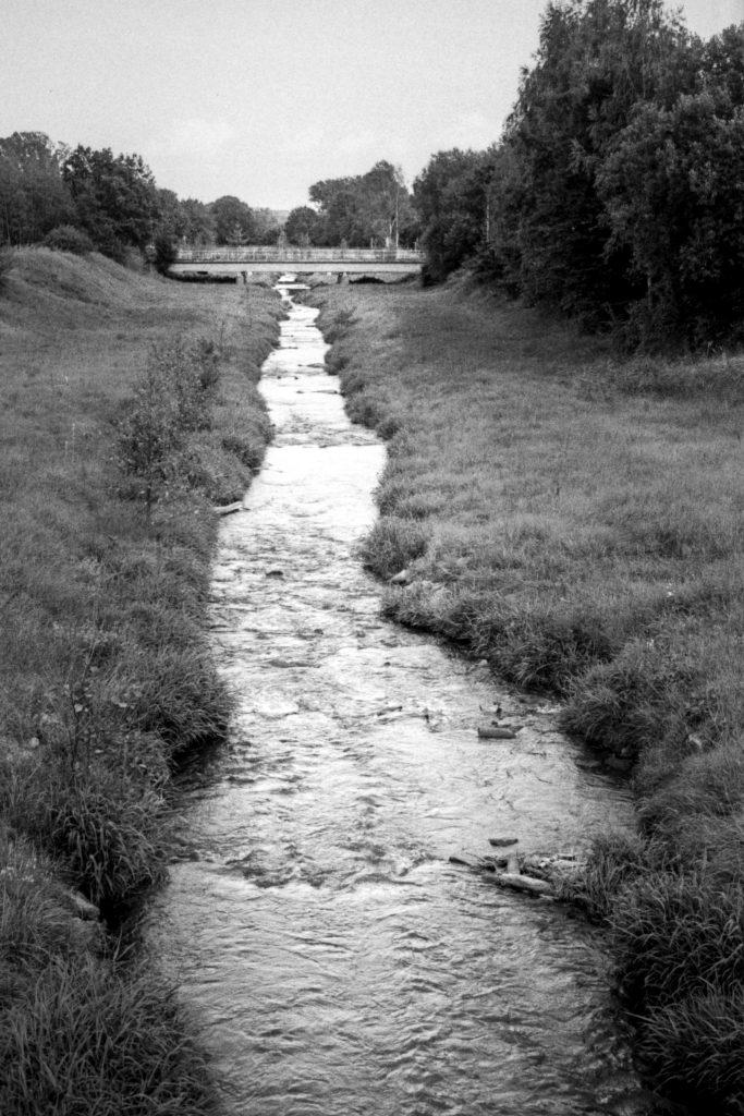 Die Pließnitz in Hagenwerder.