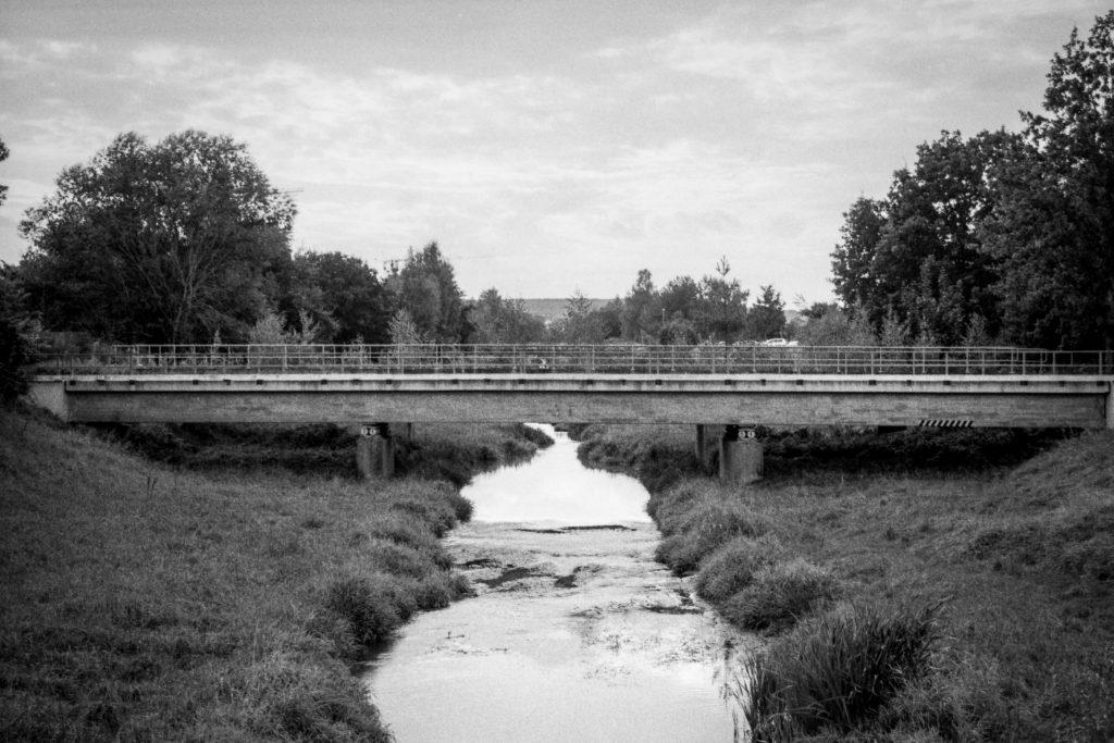 Die vorletzte Brücke.