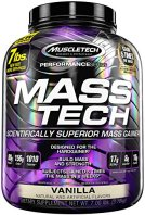 Muscletech Mass-Tech - Vanilla, 1er Pack (1 x 3.2 kg) -
