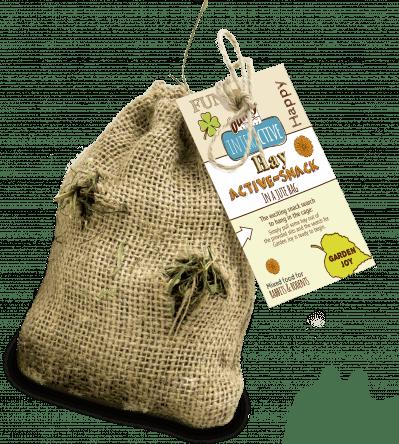 Bunny hay active-snack garden joy 30g