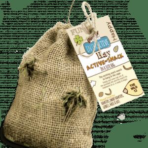 Bunny hay active-snack the wild 30g