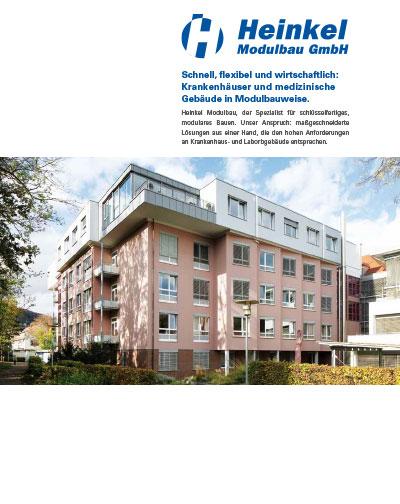 , Krankenhäuser und medizinische Gebäude, Heinkel Modulbau