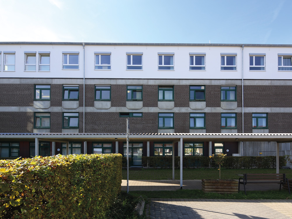 , Erweiterung und Aufstockung der Fachklinik Christophsbad in Göppingen, Baden-Württemberg, Heinkel Modulbau
