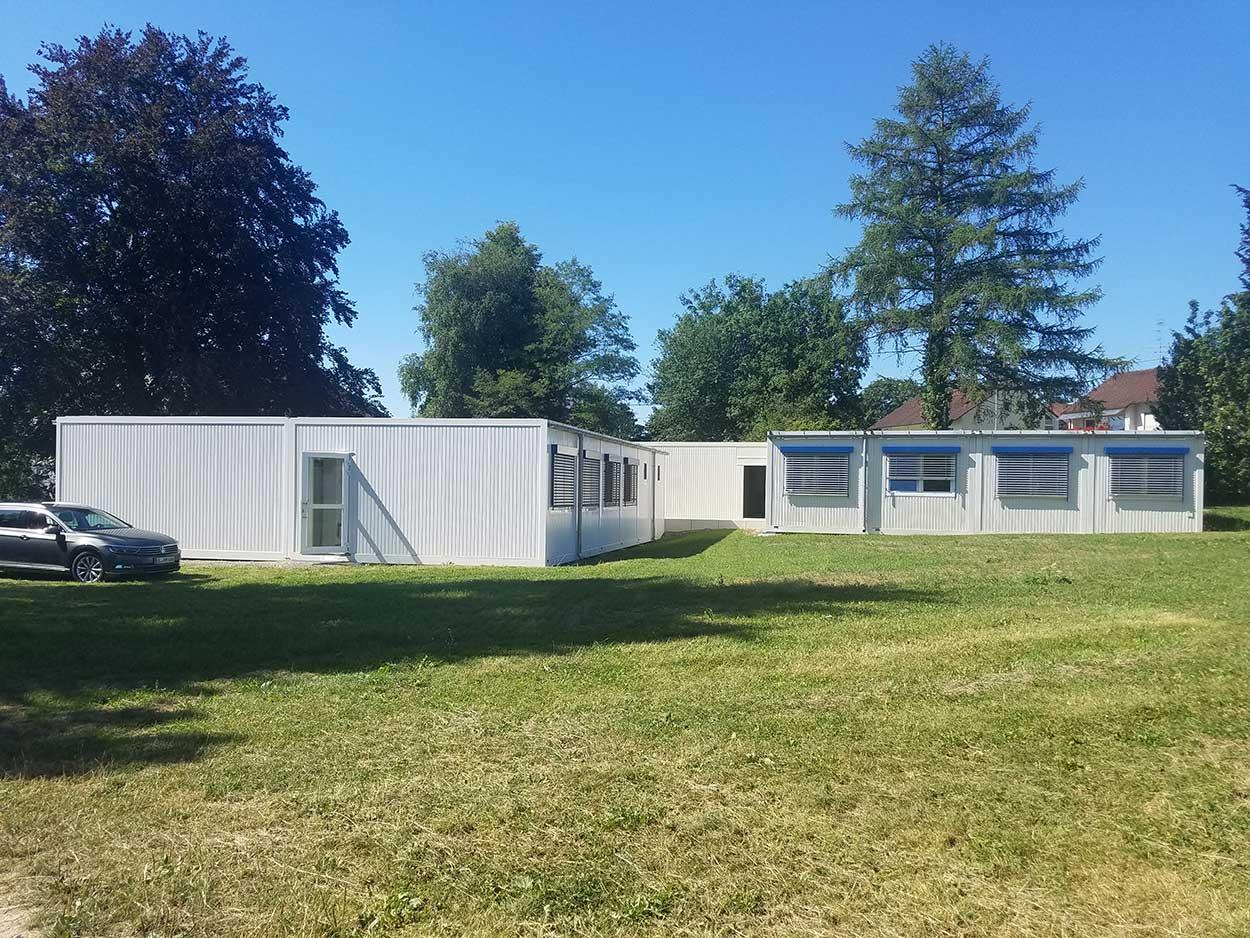 , Eine Containeranlage, drei Standorte, drei Nutzungsvarianten: Containergebäude von Heinkel Modulbau sind flexibel und nachhaltig., Heinkel Modulbau