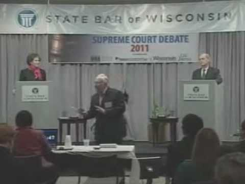 yt 9413 Wisconsin Supreme Court Debate David Prosser and JoAnne Kloppenburg - Wisconsin Supreme Court Debate - David Prosser and JoAnne Kloppenburg
