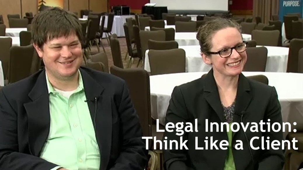 yt 9446 Legal Innovation Think Like a Client - Legal Innovation: Think Like a Client