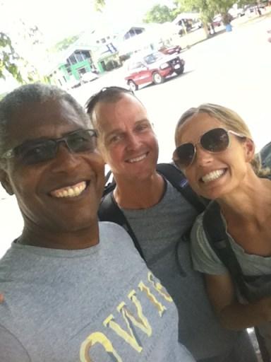 Saying goodbye to Jeff & Holly at the Belize/Guatemala Border!