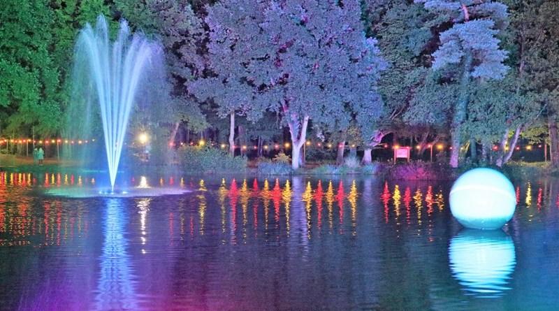 Lampionfest und Feuerwerk im Kurbad
