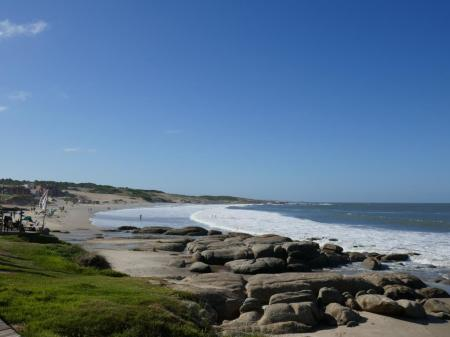 Strand nach links