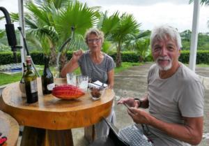 statt Kakao gibts Champis und Bordeaux
