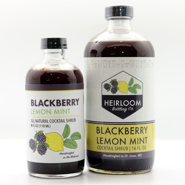blackberry lemon mint bottles