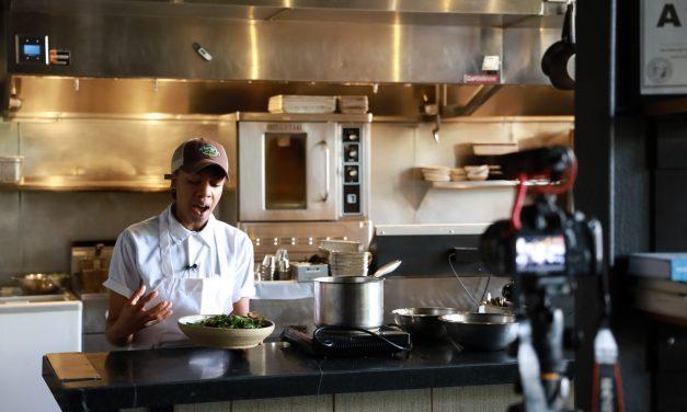 Ashleigh Shanti's 3-Way Collard Salad Recipe