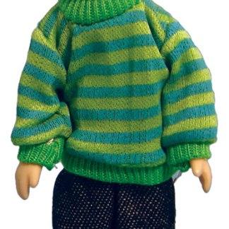 DP099 - 1:12th scale Porcelain Modern Boy in Sweater