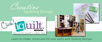 Take a machine quilting class at iQuilt