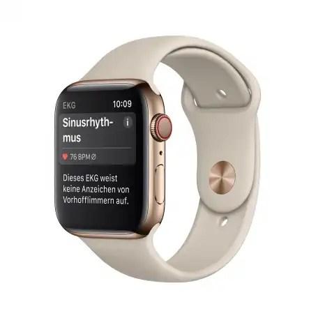 Die EKG-Funktion der Apple Watch Series 4 steht mit watchOS 5.2 auch in Deutschland zur Verfügung.
