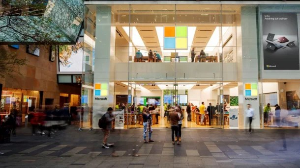 Microsoft Closes Almost All Of Its Own Stores