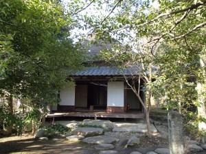 伊賀上野に残る「蓑虫庵」