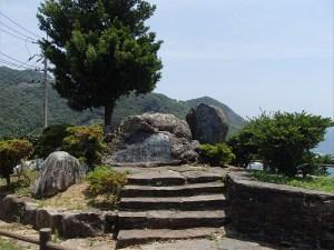 外海の遠藤周作「沈黙」の碑
