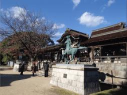 シーボルトも訪れた賀茂神社