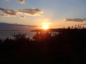 牛窓天神社からの夕陽