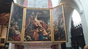 ルーベンスの「キリストの降架」