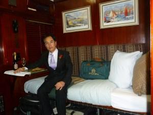 ロボス列車の客室