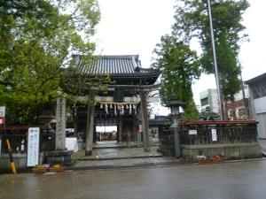 伊賀上野の菅原神社天神宮