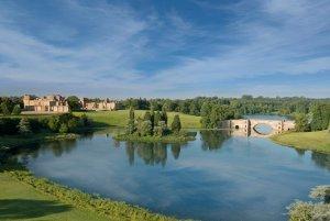 英国らしいブレナム宮殿の風景