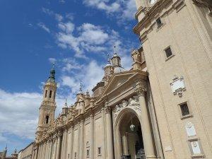 ピラール聖母教会ファサード