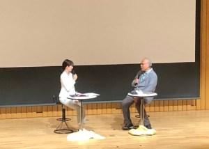 平井理央さんと荒俣宏先生の対談