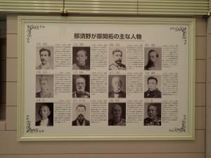 日本遺産に関連する登場人物