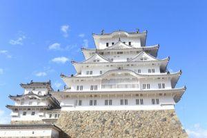 備前丸から眺めた姫路城