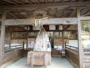 日本一重い手力神社の鈴の緒