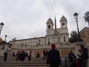 ローマのスペイン階段