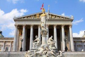 ウィーンの国会議事堂