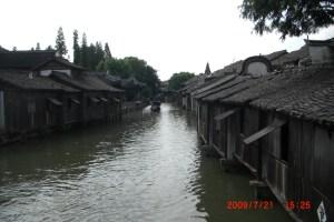 烏鎮を流れる運河