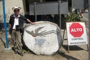 グァテマラ国境にて