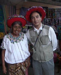 再会したいグァテマラのマリアさん