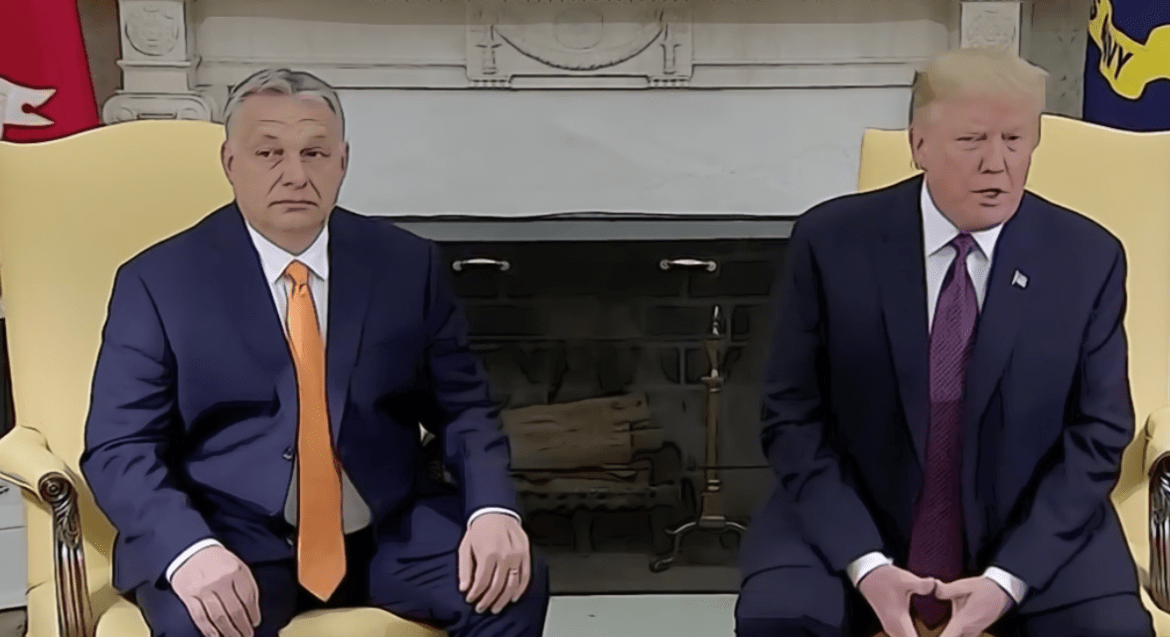 A Match Made In Authoritarian Hell: Trump Showers Viktor Orban With Praise At White House