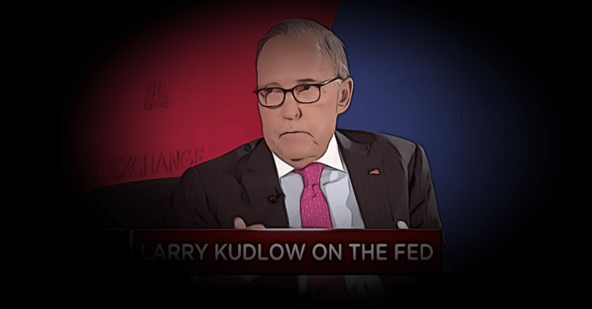 The Fact That Larry Kudlow Keeps Saying 'Jerome Powell's Job Is Safe' Is Proof Positive That It Isn't