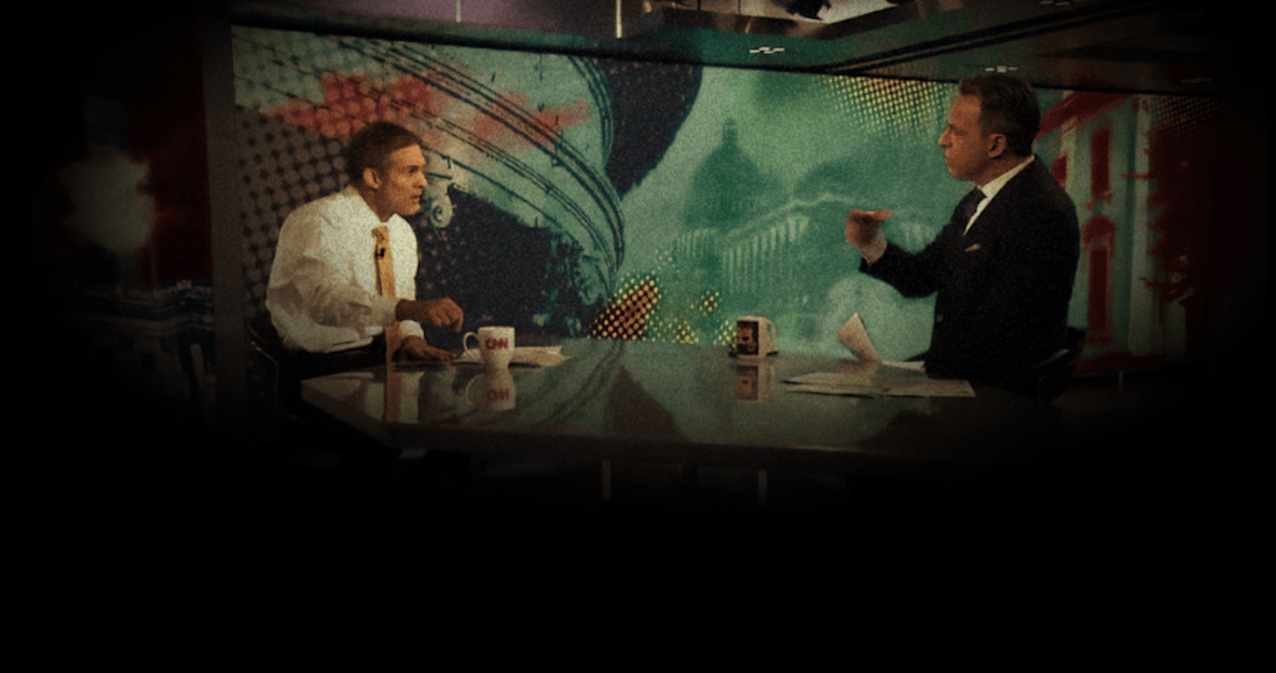 Jim Jordan Called Out By Jake Tapper For Spreading 'Wild Allegations' On National Television