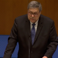 Bill Barr Delivers Bizarre Speech At Notre Dame, Says 'Militant' Teachers, Progressives Are Out To Get Jesus
