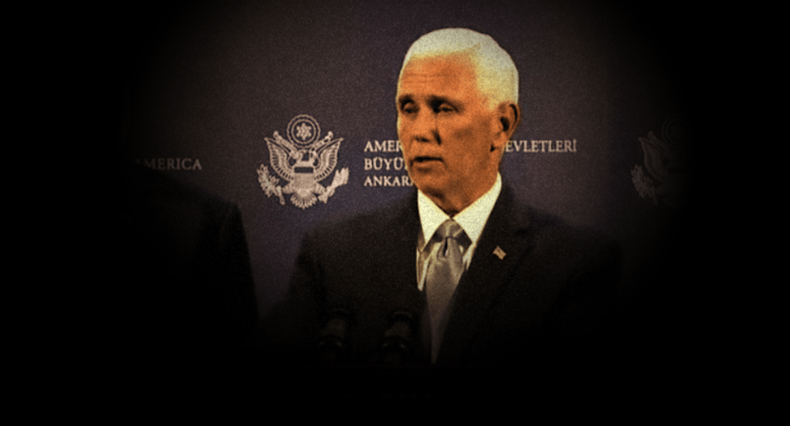 Mike Pence Completes America's Betrayal Of Kurds, Strikes Devil's Bargain With Erdogan